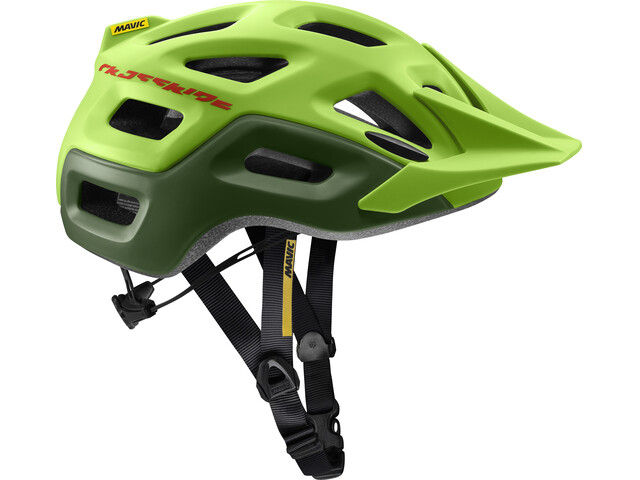 Mavic Crossride Helmet Lime Green/Chive
